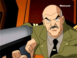 General Wade Eiling - General Eiling from Justice League Unlimited.
