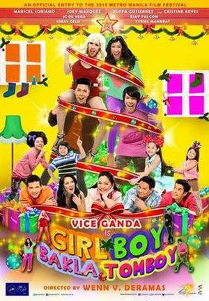 Girl, Boy, Bakla, Tomboy - Theatrical movie poster