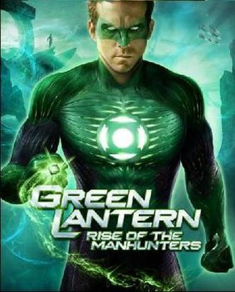 Green Lantern: Rise of the Manhunters - Xbox 360 and PlayStation 3 cover art