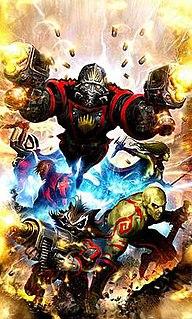 Guardians of the Galaxy (2008 team) 2008 superhero team by Marvel Comics