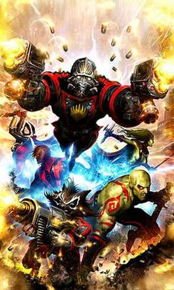 Guardians of the Galaxy From Marvel Superheroes