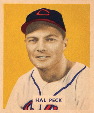 Hal Peck - Image: Hal Peck 1949 Bowman card