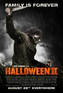 <i>Halloween II</i> (2009 film) 2009 film by Rob Zombie