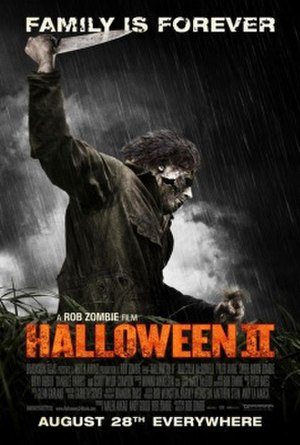 Halloween II (2009 film) - Theatrical release poster