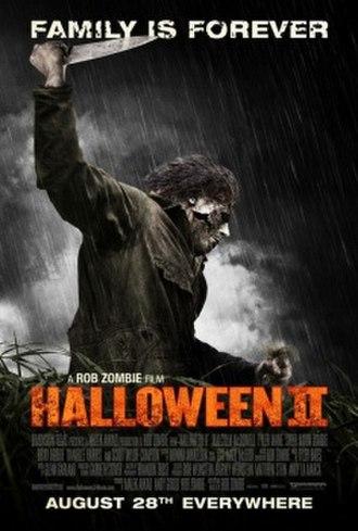 Halloween II (2009 film) - Theatrical release poster