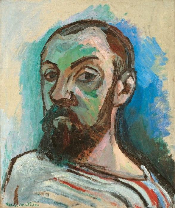 Henri Matisse Self-Portrait in a Striped T-shirt (1906)