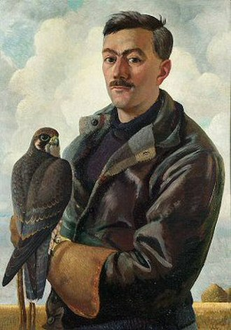 Henry Williamson - Portrait by Charles Tunnicliffe, c. 1935