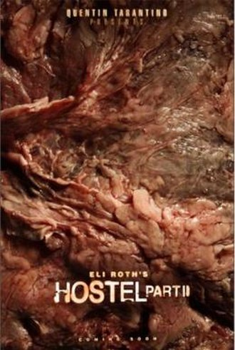 Hostel: Part II - Original one sheet teaser poster, which was removed from theaters.