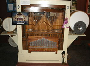 Jane's Carousel - The Wurlitzer Style 153 Band Organ resides at DeBence Antique Music World in Franklin, Pennsylvania
