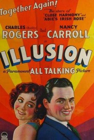 Illusion (1929 film) - Theatrical release poster