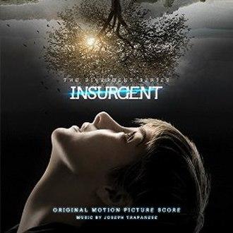 The Divergent Series: Insurgent – Original Motion Picture Soundtrack - Image: Insurgent score cover