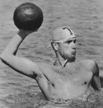 István Szívós (water polo, born 1920) - Image: István Szívós Sr