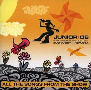Junior Eurovision Song Contest 2006 - Image: JESC 2006 album cover