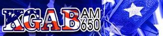 KGAB - Image: KGAB logo