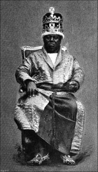 Akwa Akpa - King Duke of Calabar in Full Dress (published 1895).