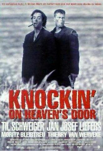 Knockin' on Heaven's Door (1997 film) - Theatrical poster