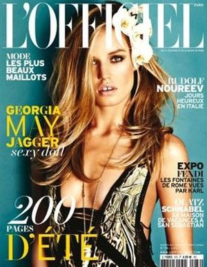L'Officiel - June/July 2013 cover