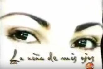 La niña de mis ojos - Title card