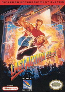 <i>Last Action Hero</i> (video game) 1993 computer and video game