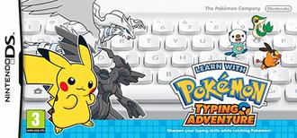 Learn with Pokémon: Typing Adventure - European keyboard bundle cover art
