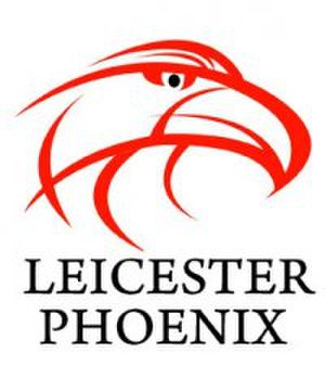 Leicester Storm - The Phoenix badge used by the club until becoming the Storm in 2010