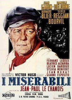 <i>Les Misérables</i> (1958 film) 1958 French film based on the novel of the same name directed by Jean-Paul Le Chanois