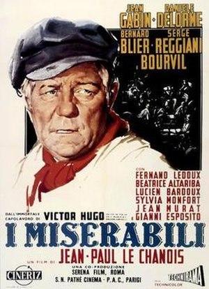 Les Misérables (1958 film) - Image: Les Miserables 1958