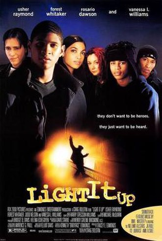 Light It Up (film) - Theatrical release poster