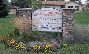 Lind-Bohanon, Minneapolis - Lind-Bohanon, Minneapolis, Minnesota sign