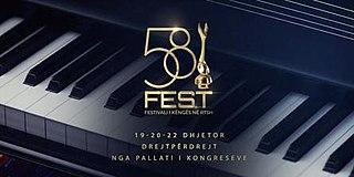 Festivali i Këngës 58 58th edition of Festivali i Këngës