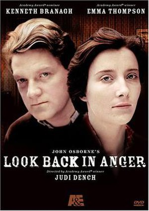 Look Back in Anger (1989 film) - Image: Look Backin Anger 1989