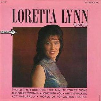 Loretta Lynn Sings - Image: Loretta Lynn Sings
