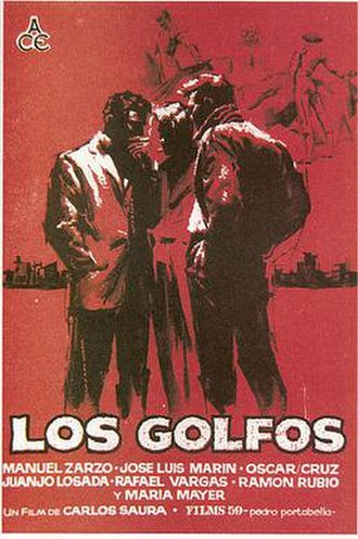 The Delinquents (1960 film) - Image: Los Golfos, film poster