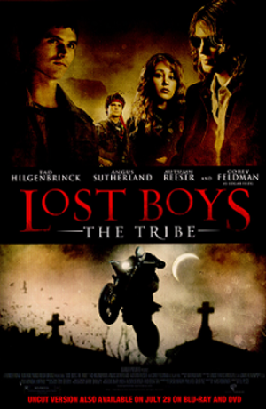 Lost Boys: The Tribe - DVD cover