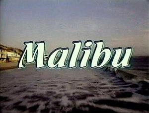 Malibu (film) - Malibu title screen