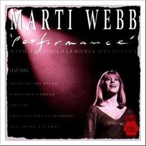 Performance (Marti Webb album) - Image: Marti Webb Performance