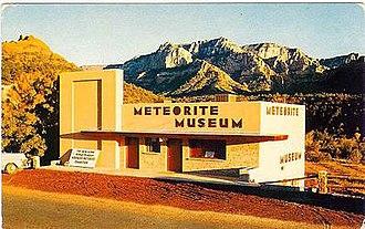 Harvey H. Nininger - Nininger Meteorite Museum, Sedona, Arizona, c. 1954