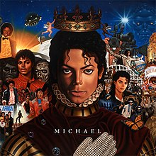 Michael Jackson Illuminati Album Cover