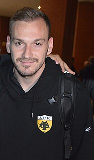 Michalis Bakakis Greek footballer