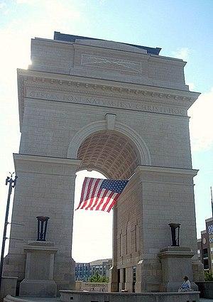 Millennium Gate Museum - Image: Millennium Gate, Atlantic Station