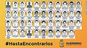 2014 Iguala mass kidnapping - Photo issued by the Government of Guerrero