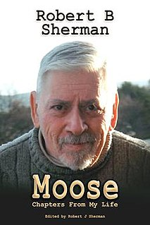<i>Moose: Chapters from My Life</i> book by Robert Sherman