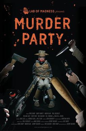 Murder Party - Image: Murderpartyposter