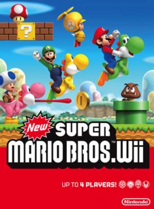 New Super Mario Bros. Wii - Image: New Super Mario Bros Wii Boxart