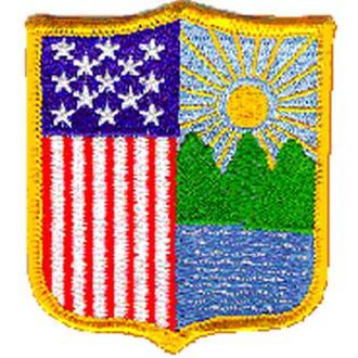 New York Guard - The patch worn by New York Guard members