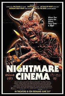 <i>Nightmare Cinema</i> 2018 American horror anthology film