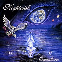 The cover of Oceanborn, the successor of Angels Fall First.