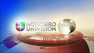 Noticiero Univision - Noticiero Univision intro, used from January 23 to December 31, 2012.