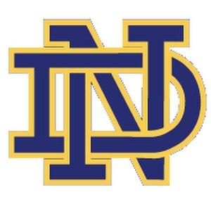 Notre Dame High School (Sherman Oaks, California) - Image: Notre Dame hs logo