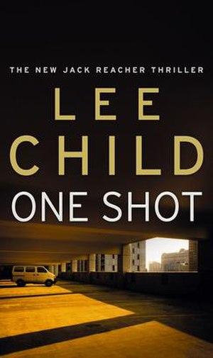 One Shot (novel) - Book cover